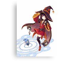 Kawaii Witch Canvas Print