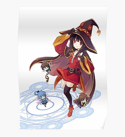 Kawaii Witch Poster