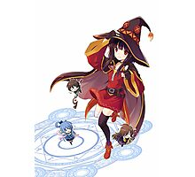Kawaii Witch Photographic Print