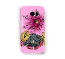 Warrior for breast cancer Samsung Galaxy Case/Skin