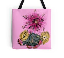 Warrior for breast cancer Tote Bag