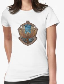 Hogwarts House Crest - Ravenclaw Eagle Womens Fitted T-Shirt