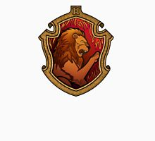 Hogwarts House Crest - Gryffindor Lion Unisex T-Shirt