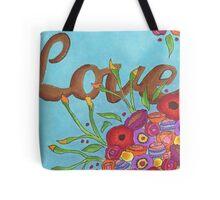 Flower Love Tote Bag