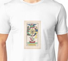 X. La Roue de Fortune (The Wheel of Fortune) Unisex T-Shirt