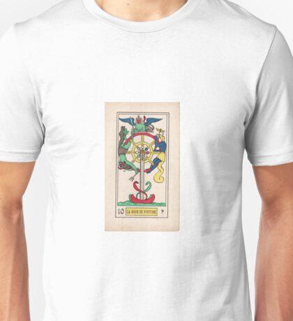 X. La Roue de Fortune (The Wheel of Fortune) Unisex T-Shirt