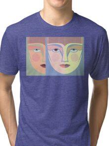 FACES #7 Tri-blend T-Shirt