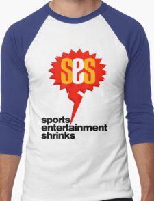 SES Podcast - Sports Entertainment Shrinks Men's Baseball ¾ T-Shirt