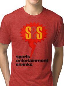 SES Podcast - Sports Entertainment Shrinks Tri-blend T-Shirt