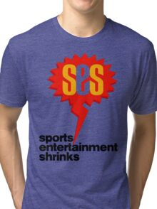 SES Podcast - Sports Entertainment Shrinks Tri-blend T-Shirt