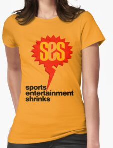 SES Podcast - Sports Entertainment Shrinks Womens Fitted T-Shirt