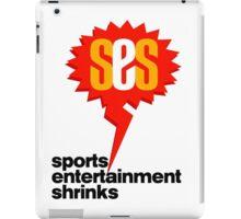 SES Podcast - Sports Entertainment Shrinks iPad Case/Skin