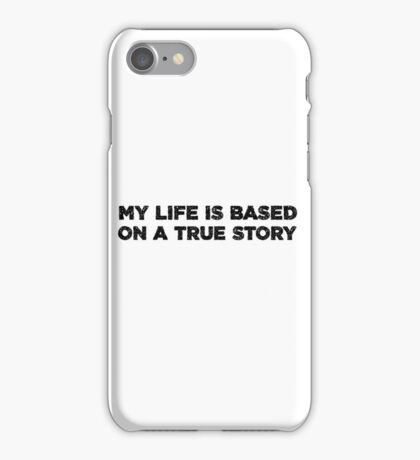 Funny Joke Clever True Story Fiction Fantasy Cool Clever iPhone Case/Skin