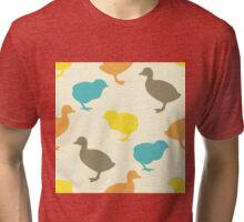 Chick and duckling. Tri-blend T-Shirt