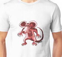 angry rat cartoon style Unisex T-Shirt