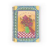 Always Flowers, Always Friends Spiral Notebook