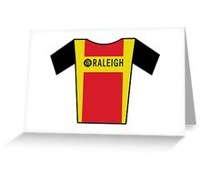 Retro Jerseys Collection - Raleigh Greeting Card