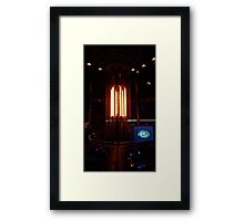 12th Doctor's Tardis Console Framed Print