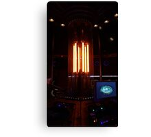 12th Doctor's Tardis Console Canvas Print