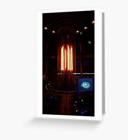 12th Doctor's Tardis Console Greeting Card