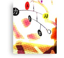A Balance in life Canvas Print