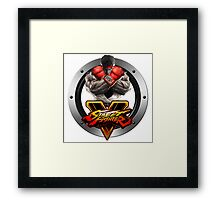 Street Fighter V : Ryu Framed Print
