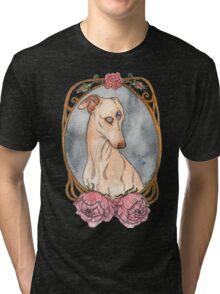 Peony Mirror Tri-blend T-Shirt