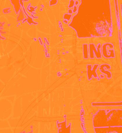 think orange again Sticker
