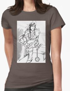 tiefling Womens Fitted T-Shirt
