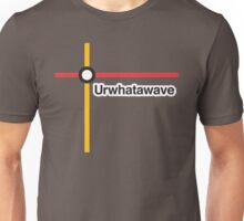 Urwhatawave - Literally Translated Metro Map Unisex T-Shirt