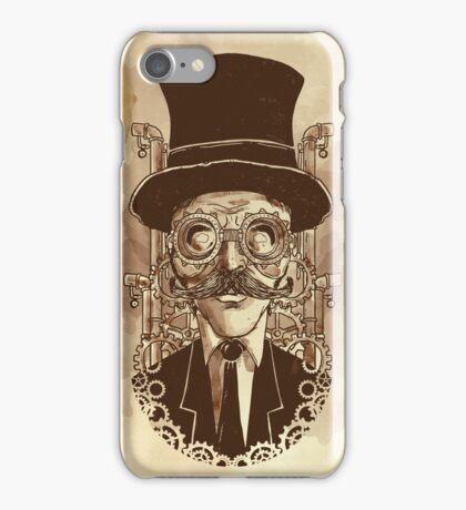 Steampunk Mustache iPhone Case/Skin