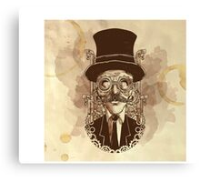 Steampunk Mustache Canvas Print