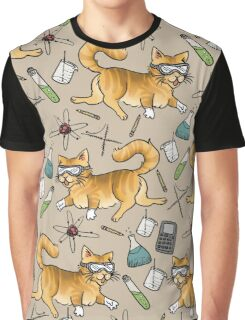 STEM Cats Graphic T-Shirt