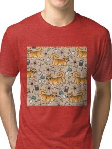 STEM Cats Tri-blend T-Shirt