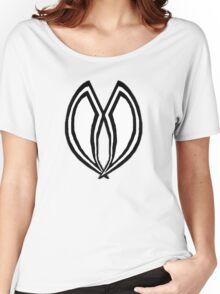 Black and White Design Women's Relaxed Fit T-Shirt