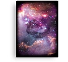 Space Cat Unisex Tee & More Canvas Print