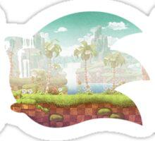 Sonic The Hedgehog 25th Anniversary Logo Sticker