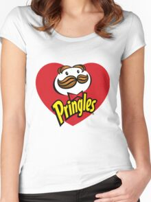 Pringles - Love Women's Fitted Scoop T-Shirt