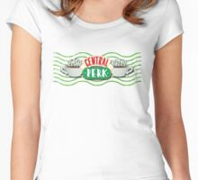 Friends - Central Perk Logo Women's Fitted Scoop T-Shirt
