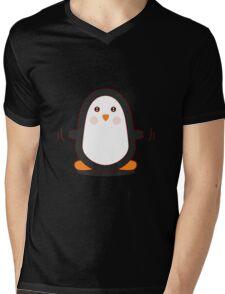 Penguin! Mens V-Neck T-Shirt