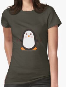 Penguin! Womens Fitted T-Shirt