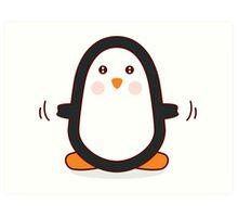 Penguin! Art Print