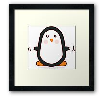 Penguin! Framed Print