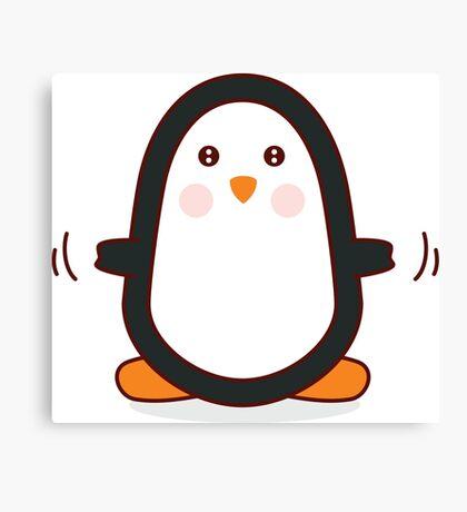 Penguin! Canvas Print