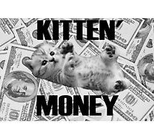 Kitten Money Photographic Print