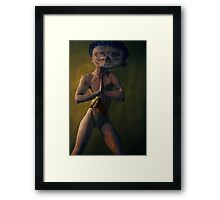 SCARY DOLLS AND OTHER CHILDHOOD TOYS Framed Print