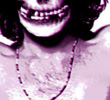 THE MISFITS JIM MORRISON Mash Up (Original/ White) Sticker