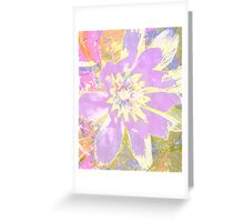 Yes it's a pretty little flower Greeting Card