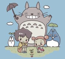 totoro One Piece - Short Sleeve