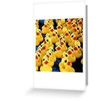 Rubber Duckie.... Greeting Card